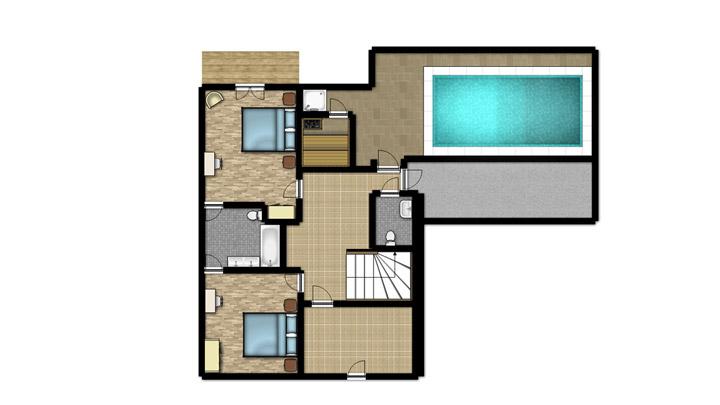 De Maison Moderne Avec Piscine Interieure